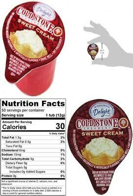 Find helpful customer reviews and review ratings for international delight coffee creamer singles, cold stone creamery sweet cream, 288 count at amazon.com. International Delight Mini Cold Stone Creamery Sweet Cream Coffee 50 count   eBay