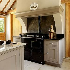 neutral country kitchen with range cooker decorating With kitchen designs with range cookers