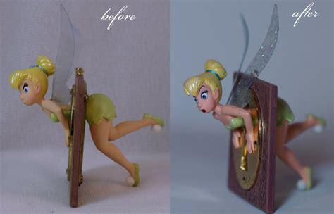 3ooak Hallmark Tinkerbell Ornament By Lulemee On Deviantart