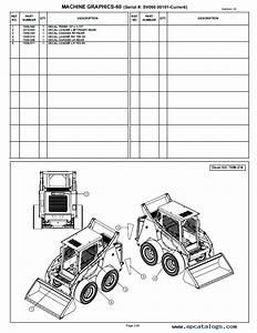 Terex Tsv50  60  U0026 Tsr70  80 Skid Steer Loader Master Part