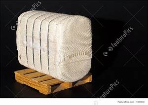 Medical Supplies  Cotton Bale On A Pallet