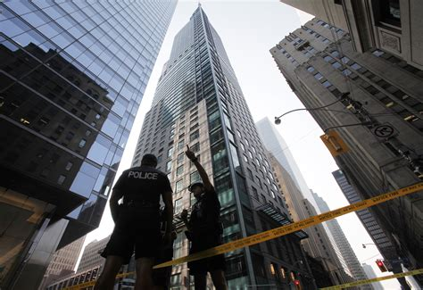 trump toronto tower hotel international canada building streets down change close reuters august file block police