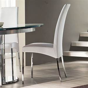 luxury simplicity of modern white dining chairs dining With modern white dining room chairs