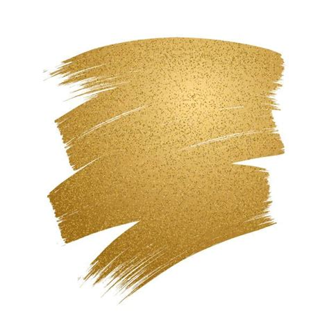 Paint brush stroke svg, paint brush svg, paint splatter svg, key ring pattern svg, paint stroke svg, keychain svg, brush stroke svg. Glitter golden brush stroke on white background. vector ...