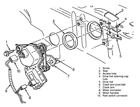 83 chevy wiper motor wiring diagram 83 get free image