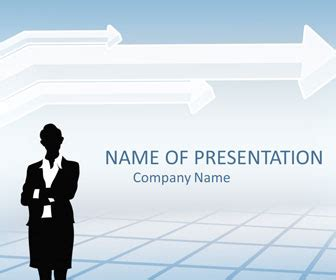 businesswoman powerpoint template templateswisecom