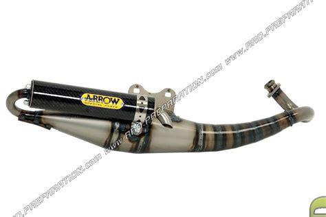muffler arrow scooter engine peugeot horizontal