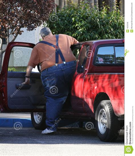 obese driver royalty  stock  image