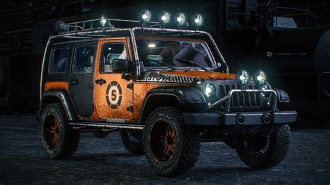 Jeep Wrangler, Custom Paint Job