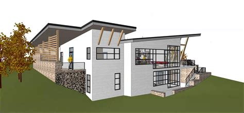 Contemporary Hillside House Design Video