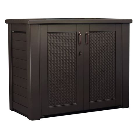 rubbermaid deck storage cabinet patio chic storage cabinet by rubbermaid rona