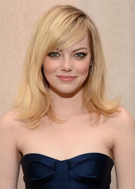 medium haircut styles medium hairstyle with side swept bangs 9735