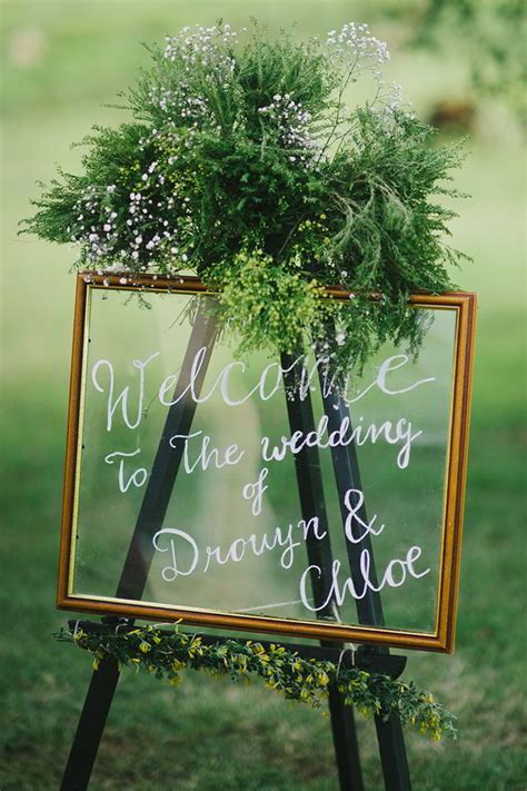 cute  clever wedding signs ideas  perfect fits