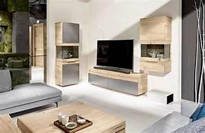 Meuble Haut Salon : table de salon design en bois convertible organo au design allemand ~ Teatrodelosmanantiales.com Idées de Décoration