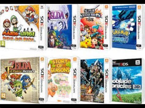 Nintendo 3ds (ニンテンドー3ds nintendō surī dī esu?) es una videoconsola portátil de la multinacional de origen japonés, nintendo, para videojuegos y multimedia, cuya atracción principal es poder mostrar gráficos en 3d sin necesidad de gafas especiales, gracias a la autoestereoscopia. los mejores juegos para 3DS/#4 - YouTube