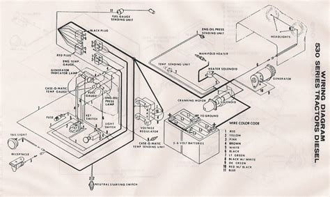 Case Wiring Diagram Yesterday Tractors