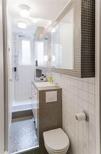 gain de place petite salle de bain sur pinterest cote With porte de douche coulissante avec meuble salle de bain 2m de long