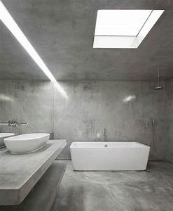 Beton Hydrofuge Pour Salle De Bain : b ton cir salle de bain 17 id es tendance ~ Edinachiropracticcenter.com Idées de Décoration