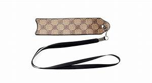 203 letter pattern leather carrying pouch w lanyard for With leather letter pouch