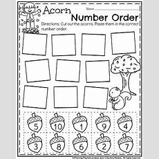 November Preschool Worksheets  Math  Preschool Worksheets, Fall Preschool, Preschool Math