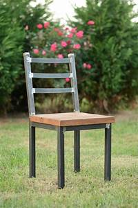 Metal And Woods : pin by heather vestweber on remodel rustic dining chairs ~ Melissatoandfro.com Idées de Décoration