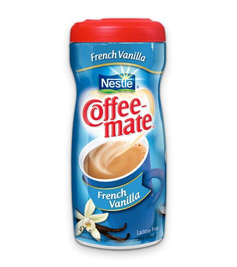 Smooth and indulgent, this french vanilla creamer creates a rich, warm flavor that transforms every drinking experience. COFFEE-MATE French Vanilla   madewithnestle.ca