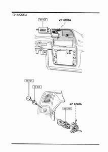 1994 Mazda B4000 Switch  Electric  Doorfloor