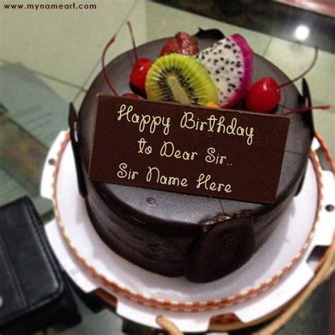 chocolate birthday cake image edit  boss  wishes