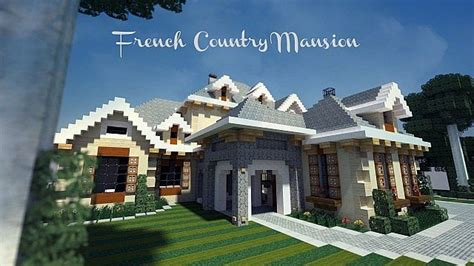 minecraft country house country mansion wok minecraft project