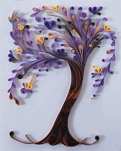 """""""Violet Tree of life"""" by Rowaina from Facebook paper"""