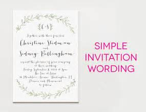15 wedding invitation wording sles from traditional to - Wording For Wedding Invitations
