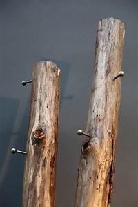 Baum Als Garderobe : holzstamm garderobe ~ Buech-reservation.com Haus und Dekorationen