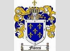 FLORES FAMILY CREST COAT OF ARMS gits at www4crestscom