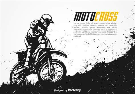 Free Motocross Vector Background
