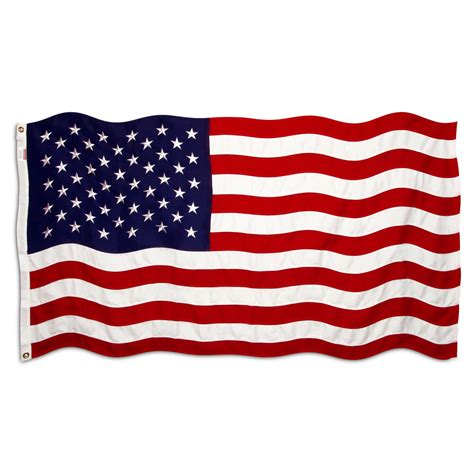 Image Of Flag American Flag 3ft X 5ft Sewn Polyester Stores Brand