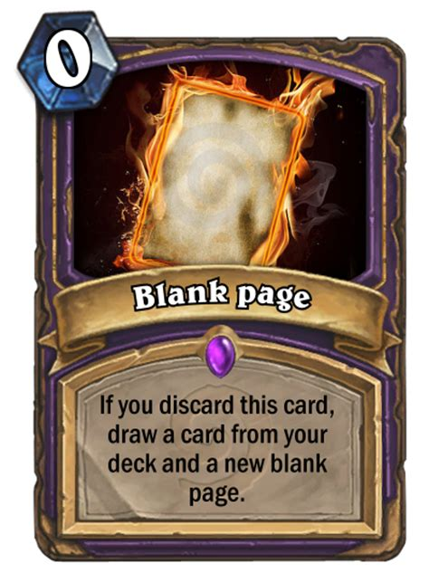 hearthstone warlock deck hearthpwn warlock card blank page fan creations hearthstone