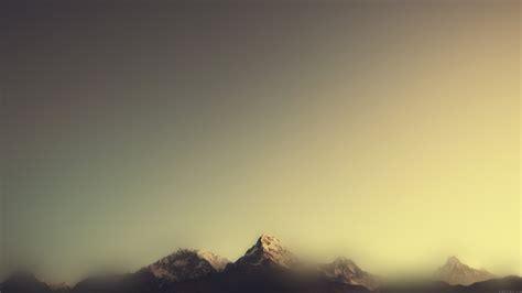 wallpaper  desktop laptop ml mountain blur minimal nature