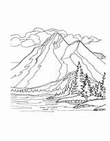 Coloring Mountain Mountains Adults Printable Drawing Climbing Nature Worksheets Scenery Landscape Colouring Range Space Sheets Bestcoloringpagesforkids Pemdas Simple Adult Cascade sketch template