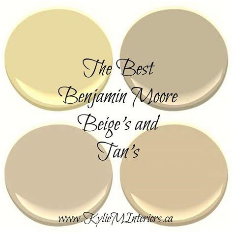 the 5 best benjamin neutral paint colours beige