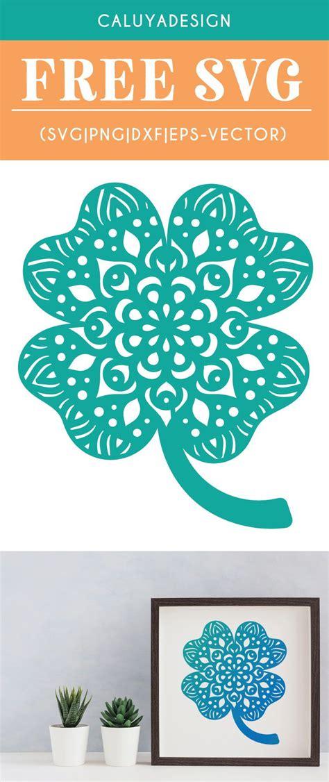 Freepik free vectors, photos and psd freepik online editor edit your freepik templates slidesgo free templates for presentations storyset free editable illustrations. Free Mandala Clover SVG, PNG, EPS & DXF By | Cricut, Svg ...
