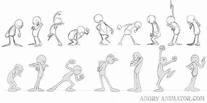Animation Cartoon Drawing Poses Pose Reference Characters
