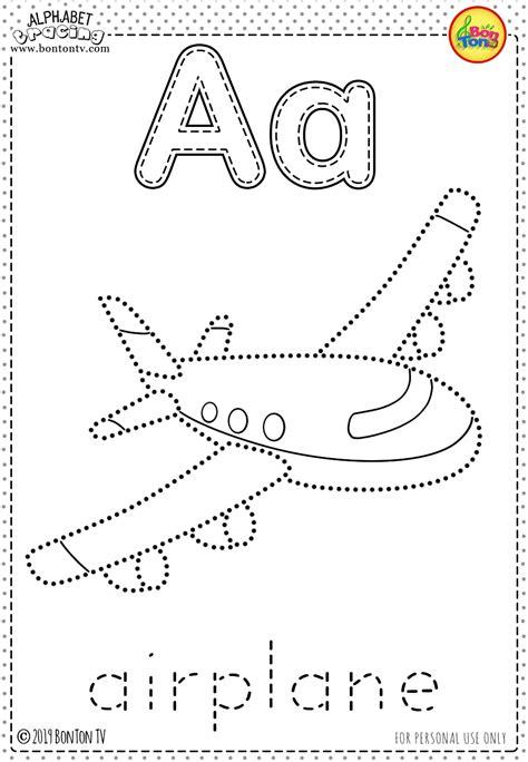 preschool printables alphabet tracing  coloring