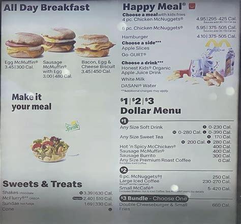 Going to dine at mcdonald's? McDonald's menu prices - SLC menu