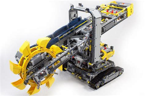 Lego Technic Schaufelradbagger 42055 Im Review Und Tipps