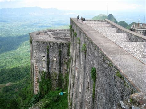 The Citadelle Laferriere Built By Haiti To African