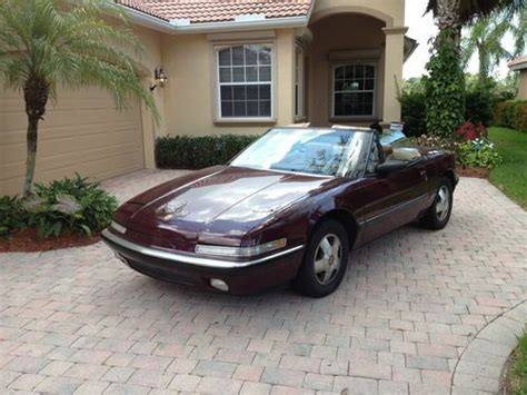auto air conditioning service 1990 buick reatta parental controls buy used 1990 buick reatta base convertible 2 door 3 8l in naples florida united states for