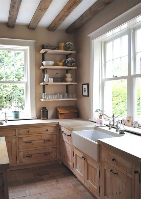 Tone On Tone Old And New In Kitchen Renovation