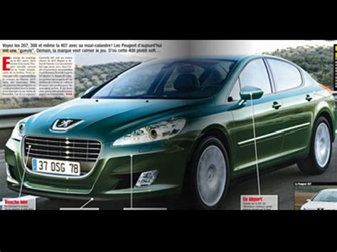 2018 Peugeot 408 Might Look Like This News Top Speed