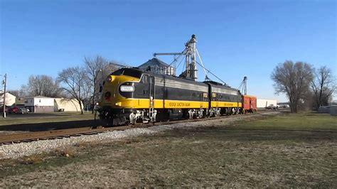 Keokuk Junction Rwy. Santa Train 2013 - YouTube