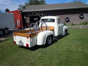 1956 Ford Custom Flatbed Truck